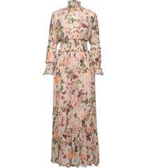 adriana dress maxi dress galajurk roze by malina