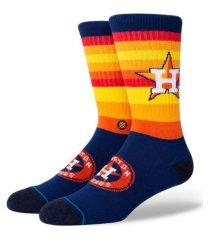 stance houston astros rainbow crew socks
