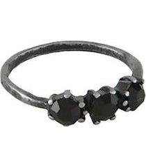 anel armazem rr bijoux pequeno cristais feminino