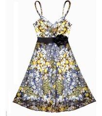 vestido corto flores sarab-estampado