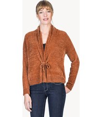 lilla p tie front cardigan sweater