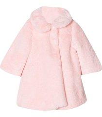 miss blumarine pink coat