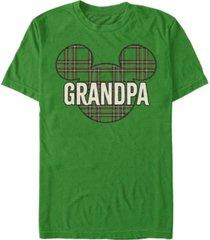 fifth sun men's grandpa patch short sleeve t-shirt