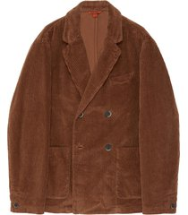 'molena' double breast corduroy blazer