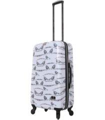 """halina valerie valerie aubergine 24"""" hardside spinner luggage"""