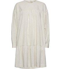 dina dress kort klänning creme wood wood