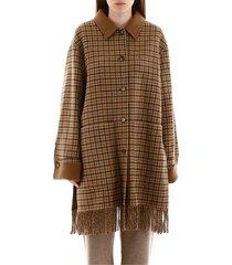 fringed marzy coat