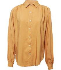 camisa beige donadonna
