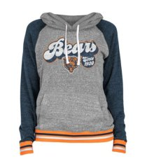 5th and ocean women's chicago bears team vintage hoodie