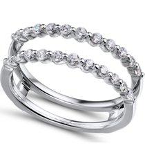 diamond (1/2 ct. t.w.) ring enhancer in 14k white gold