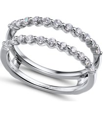 diamond (1/2 ct. t.w.) ring enhancer in 14k white gold