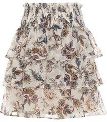 summer paisley skirt liu-jo