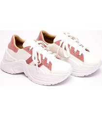 zapatilla blanca valentia calzados brenda