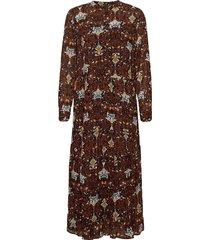fqrami-l-dr maxiklänning festklänning brun free/quent