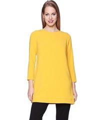 sukienka casual żółta