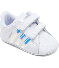 adidas baby girls' superstar crib booties from finish line