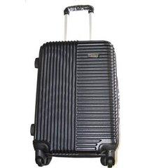 espectacular maleta pequeña 20 pulgadas cabina 4 ruedas 360º abs - negro