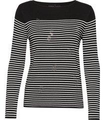 pullover long-sleeve t-shirts & tops long-sleeved zwart gerry weber edition