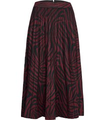 viviynn knälång kjol röd ted baker