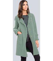 mantel alba moda groen