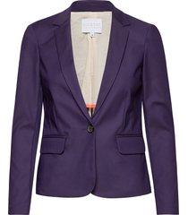 suit jacket blazers casual blazers paars coster copenhagen