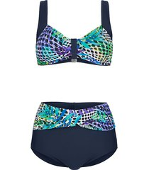 bikini maritim marine::paars::turquoise