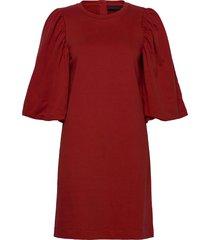 chapellekb dress kort klänning röd karen by simonsen