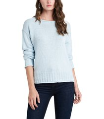 women's 1.state roll neck sweater, size x-large - blue