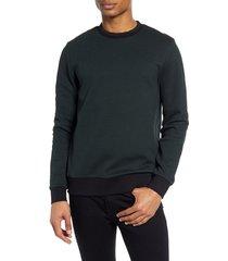 men's boss stadler pique crewneck sweatshirt