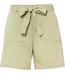 shorts con cintura (verde) - bodyflirt