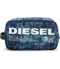 diesel men's this wallet is not a toy pouch - blue