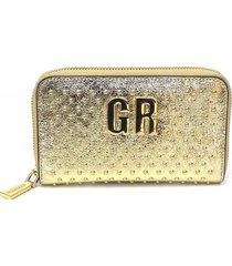 billetera gold dorado gino rodinis