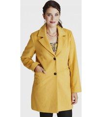 abrigo manga larga amarillo lorenzo di pontti