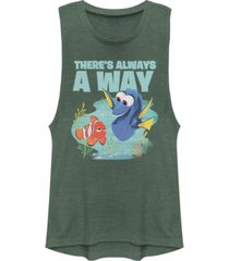 disney pixar juniors' finding dory always a way festival muscle tank top