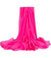 sciarpa lucida traspirante antivento traspirante modello solido per le donne
