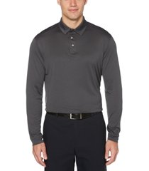 pga tour men's long-sleeve polo