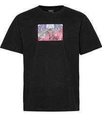 t-tubolar-n2 t-shirts short-sleeved svart diesel men