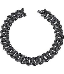 diamond essential link bracelet