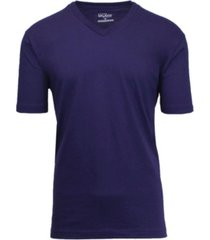 galaxy by harvic men's short sleeve v-neck t-shirt