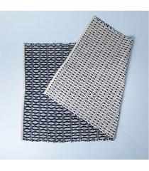 tapete bolzano cor: azul - tamanho: único