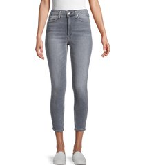 rag & bone women's high-rise skinny ankle jeans - sand river - size 32 (10-12)