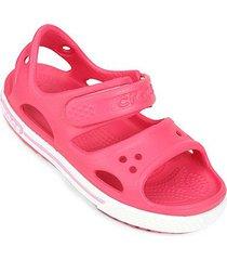 sandália crocs infantil crocband ii ps