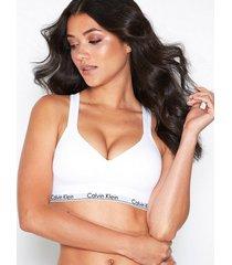 calvin klein underwear bralette lift bandeau & soft-bra vit