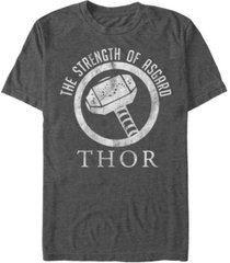 marvel men's comic collection the strength of asgard short sleeve t-shirt