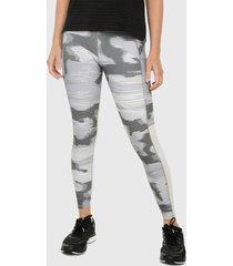 leggings blanco-gris-negro reebok essentials