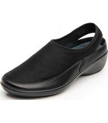 zapato mujer libra negro flexi