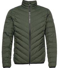 jackets fodrad jacka grön ea7