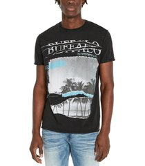 buffalo david bitton men's tijump palm t-shirt