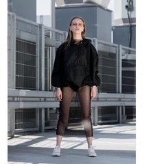 wiatrówka softshell black hoodie