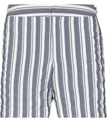 orlebar brown setter vertical-stripe swim shorts - blue